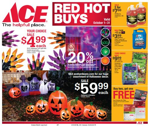 fullerton ace hardwares ads coupons